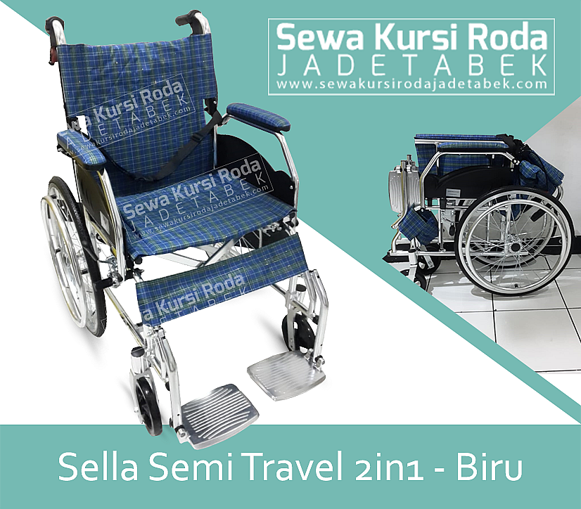 Sella Semi Travelling 2in1 Biru